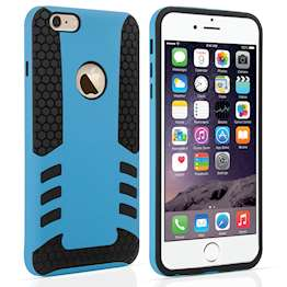 YouSave Accessories iPhone 6 Plus Border Combo Case - Blue