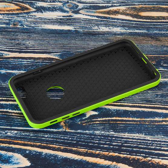 YouSave Accessories iPhone 6 Plus Border Combo Case - Green