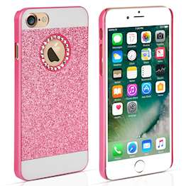 YouSave Accessories iPhone 7 Flash Diamond Case - Pink