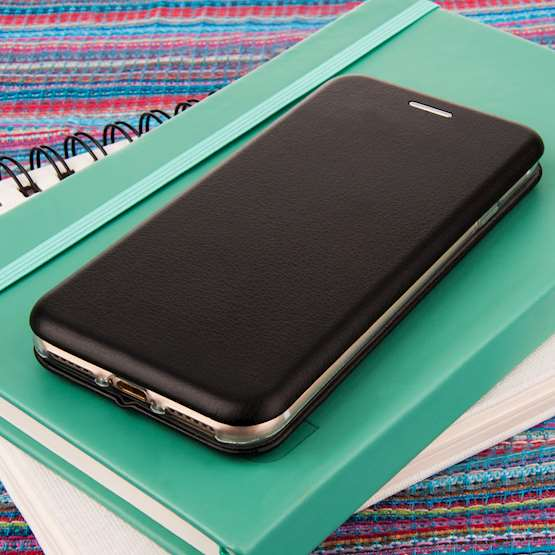 YouSave Accessories iPhone 7 Leather-Effect Stand Wallet - Black