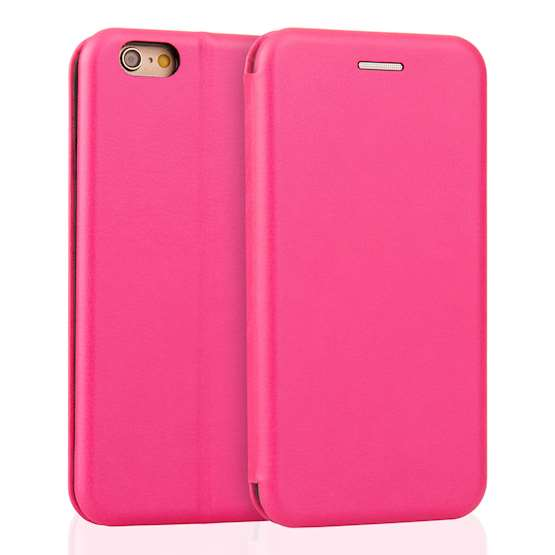 YouSave Accessories iPhone 6 and 6S Leather-Effect Stand Wallet - Pink