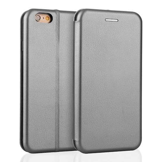 YouSave Accessories iPhone 6 and 6S Leather-Effect Stand Wallet - Grey