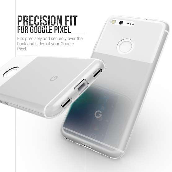 YouSave Accessories Accessories Google Pixel Ultra Thin Clear Gel Case