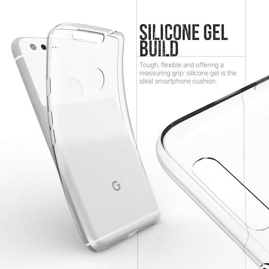 YouSave Accessories Accessories Google Pixel XL Ultra Thin Clear Gel Case