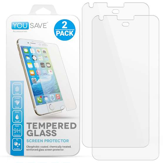 YouSave Accessories Accessories Google Pixel XL Glass Screen Protectors - Twin Pack