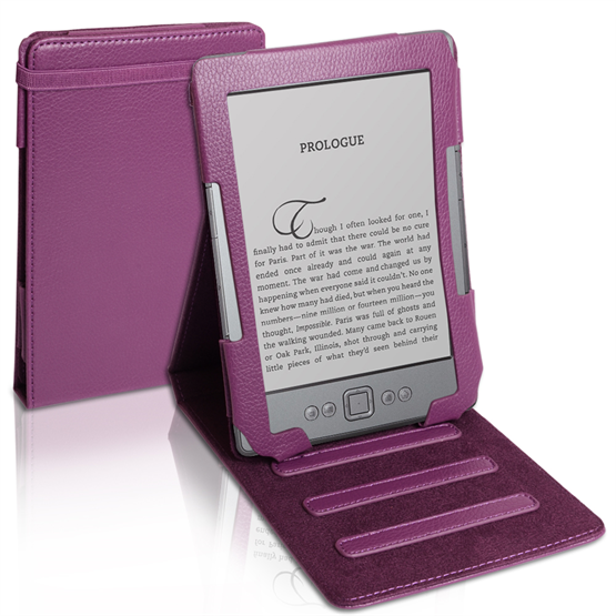 Yousave Accessories Amazon Amazon Kindle 4 Book Case Purple Case