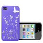 Yousave Accessories Apple iPhone 4 IMD Purple Case