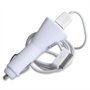 White Apple in Car Charger - Suitable for iPhone 3/4 and older iPads