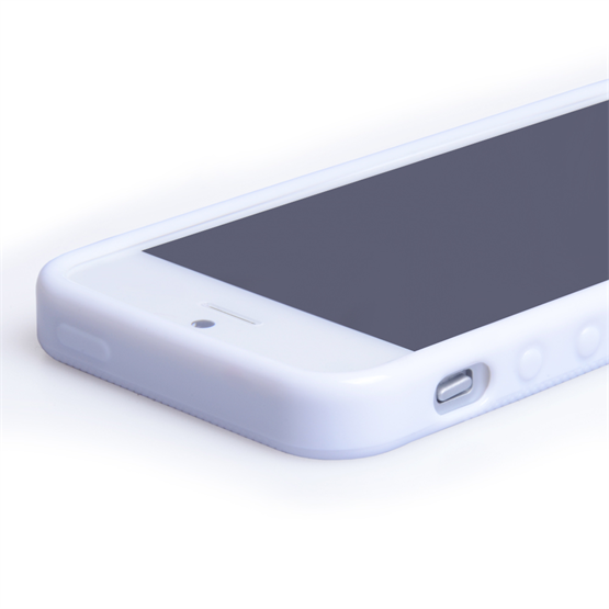 Yousave Accessories iPhone 5 White X-Line Gel Case