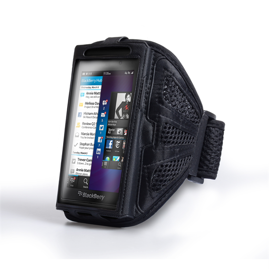 Yousave Accessories Small Sports Armband - Black