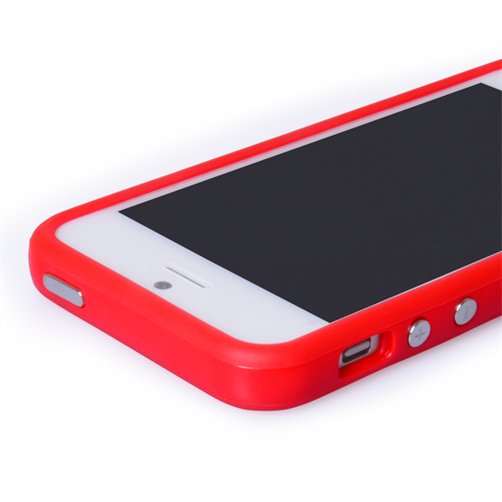 Yousave iPhone 5 Red Bumper Case