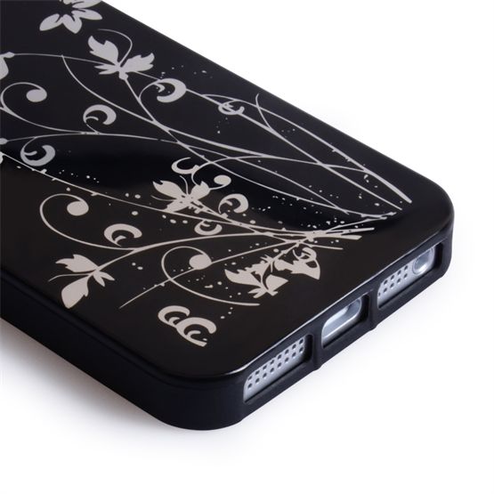 Yousave Accessories Apple iPhone 5 IMD Black Case
