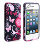 iPhone 5/5S White Butterfly