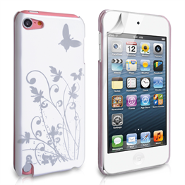 Yousave Accessories Apple iPod Touch 5 IMD White Case