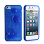 YouSave Accessories iPhone SE Gel Case - Blue-Rose