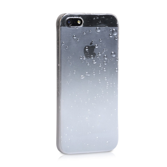 YouSave Accessories iPhone 5 /5s Raindrop Hard Case - White