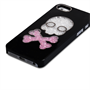 YouSave Accessories iPhone SE Skull Hard Case - Black