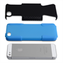 Yousave Accessories iPhone 5/5S Tough Mesh Combo Silicone Case - Blue-Black