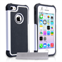 Yousave Accessories Apple iPhone 5S Grip Combo - White