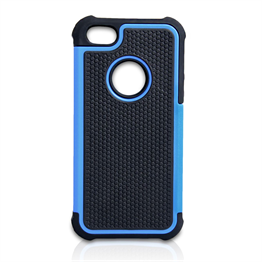 YouSave Accessories iPhone SE Grip Combo Case - Blue