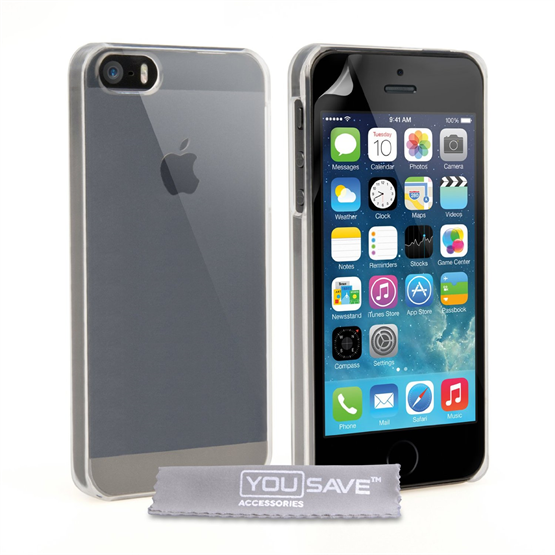 Yousave Accessories Apple iPhone 5S Crystal Clear Case