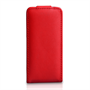 Yousave Accessories iPhone 5C Leather-Effect Flip Case - Red