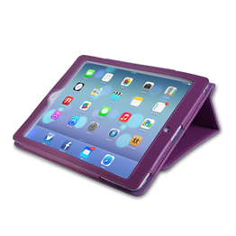 Yousave Accessories Apple iPad Air Pu Stand Purple Case