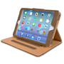 Yousave Accessories Apple iPad Mini 2 Pu Stand Tan Lining Brown Case
