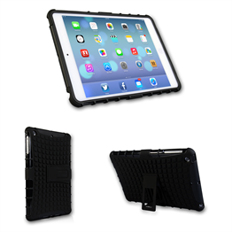 Yousave Accessories iPad Mini 2 Black Kickstand Combo Cases