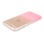 Yousave Accessories iPhone 6 and 6s Raindrop Hard Case - Baby Pink-Clear