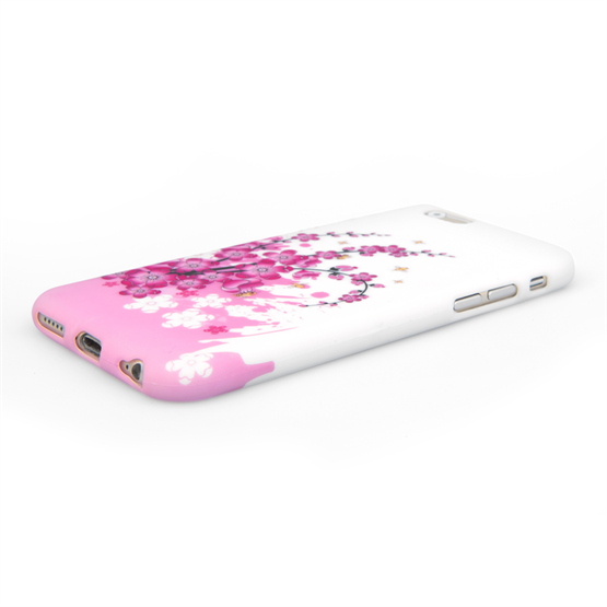 Yousave Accessories iPhone 6 and 6s Floral Bee Silicone Gel Case