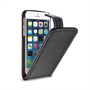 Yousave Accessories Apple iPhone 6 and 6s PU Flip Card Slots- Black