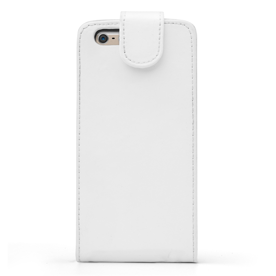 Yousave Accessories iPhone 6 and 6s Leather-Effect Flip Case - White
