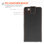 Yousave Accessories iPhone 6 Plus and 6s Plus Leather-Effect Flip Case - Black