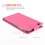 Yousave Accessories iPhone 6 Plus and 6s Plus Leather-Effect Flip Case - Hot Pink