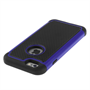 Yousave Accessories iPhone 6 and 6s  Grip Combo Silicone Case - Blue-Black