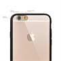 Yousave Accessories Apple iPhone 6 and 6s  Tpu Hard Back Case Black