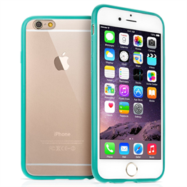 Yousave Accessories iPhone 6 Plus TPU Hard Back Case - Mint Green Case