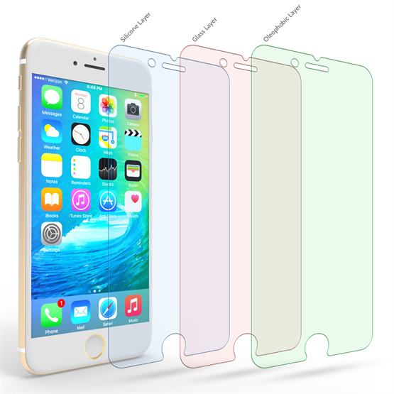 Apple iPhone 6 and 6s and 6s and 6S Glass Screen Protector