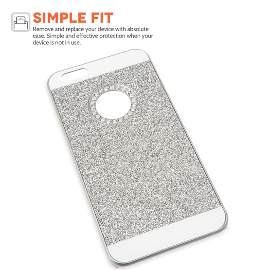 Yousave Accessories iPhone 6 and 6s Flash Diamond Case - Silver