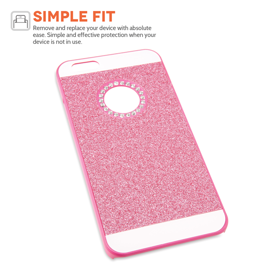 Yousave Accessories iPhone 6 and 6s Flash Diamond Case - Pink