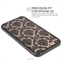 Yousave Accessories iPhone 6 and 6s TPU Hard Case - Damask Black