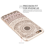 Yousave Accessories iPhone 6 and 6s TPU Patterned Gel Case - White