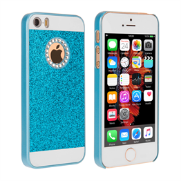 Yousave Accessories iPhone SE Flash Diamond Case -  Blue