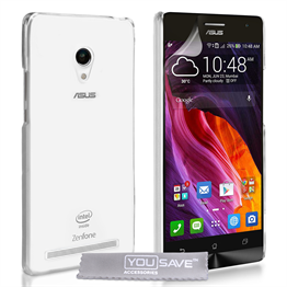 Yousave Accessories Asus Zenphone 5 Crystal Clear - Clear