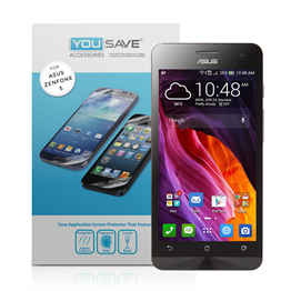 Yousave Accessories Asus Zenphone 5 - 3 Pack Screen Protectors