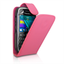 Yousave Accessories Blackberry 9320 Hot Pink PU Leather Flip Case