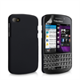 Yousave Accessories Blackberry Q10 Hybrid Black Case
