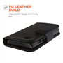 Yousave Accessories Blackberry Q5 Black PU Leather Flip