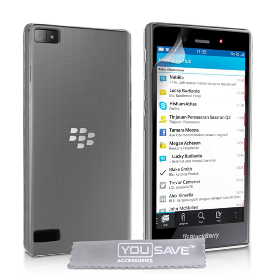 Yousave Accessories Blackberry Z3 Clear Gel